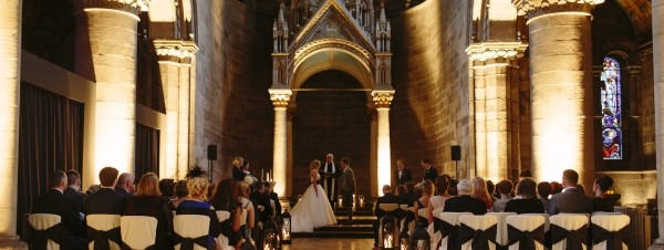 Romantic Winter Wedding Mansfield Traquair
