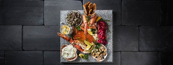 Scottish Seafood Slate by Heritage Portfolio