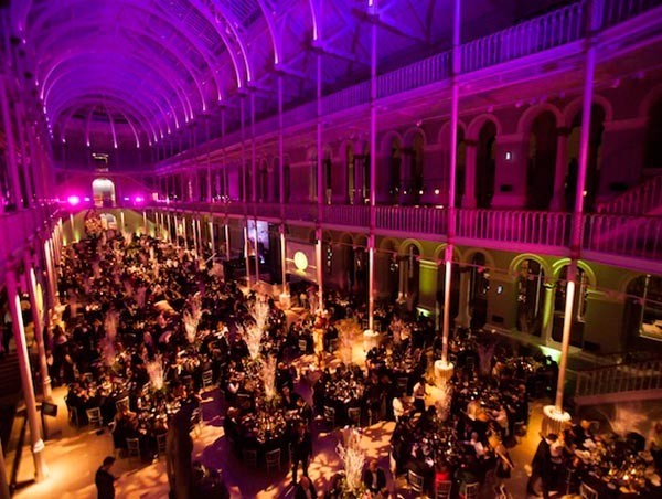 Dinner venue 1000 guests Edinburgh