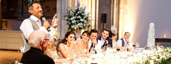 Wedding Top Table Speeches Edinburgh