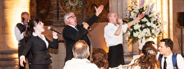 Wedding Entertainment Singing Waiters Edinburgh