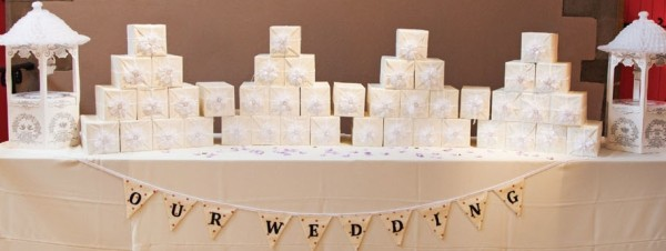 Sophisticated Wedding Favours Edinburgh