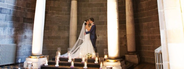 Baldacchino Wedding Mansfield Traquair Edinburgh