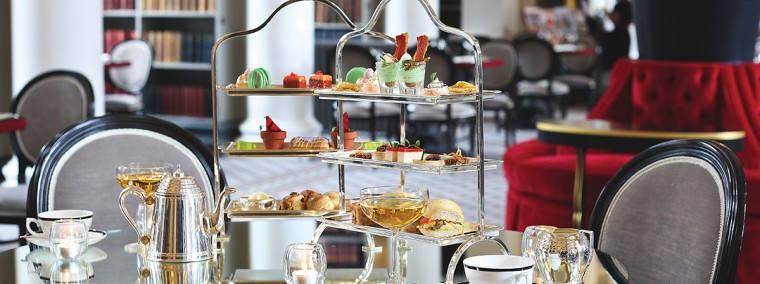 Champagne Afternoon Tea for 2 Voucher at Colonnades