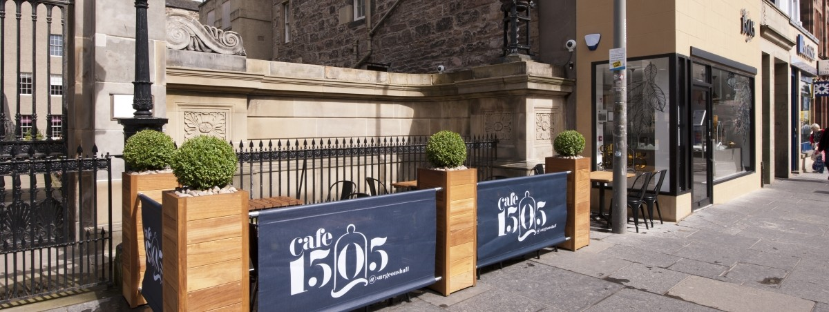 Cafe 1505 outdoor seating
