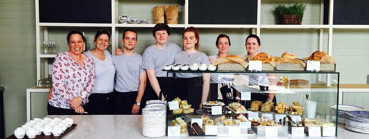 The Gardener's Kitchen team - Arley Hall and Gardens