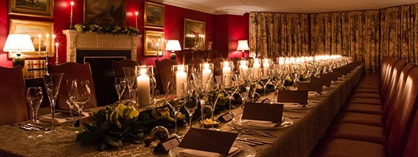 Fabulous private dining in Country House