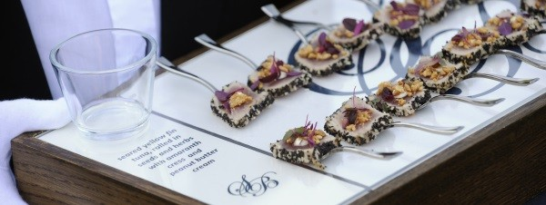 Seeded Tuna Carpaccio Event Canape
