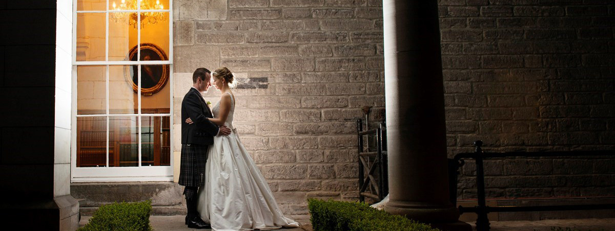 Exclusive wedding venue - The Royal College of Surgeons, Edinburgh