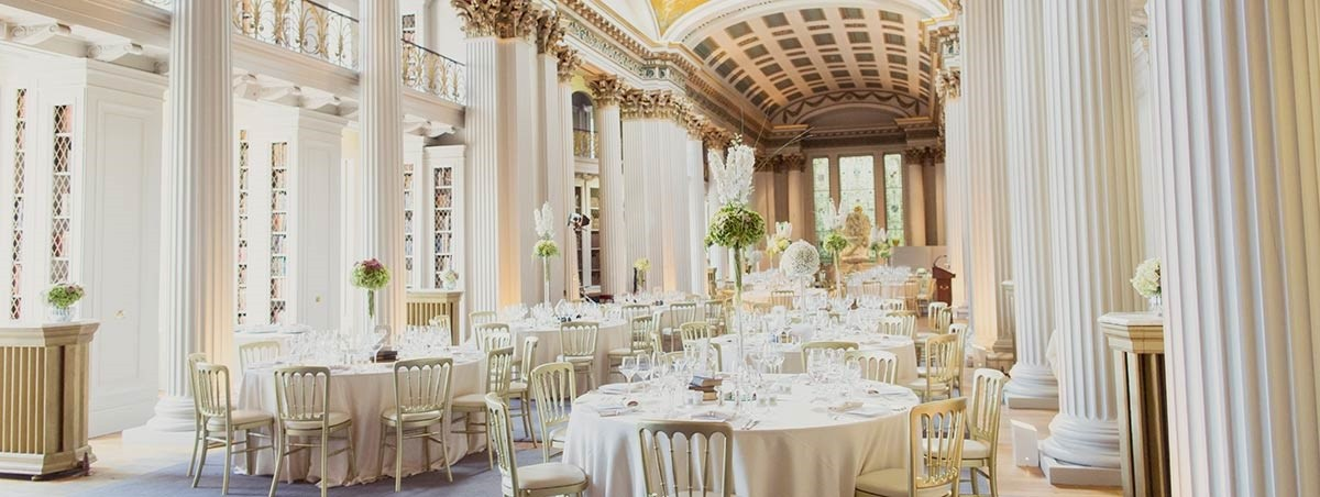 Wedding at the Signet Library, Edinburgh - exclusive use venue