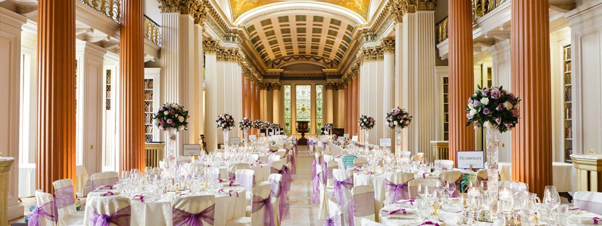 Signet Library in Edinburgh - a stunning exclusive wedding & events venue