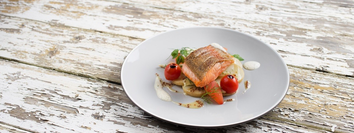 Sea Trout Summer Wedding Dish -  Heritage Portfolio