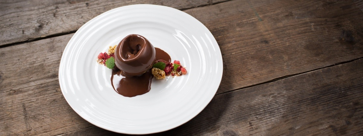 Melting chocolate wedding dessert -  Heritage Portfolio