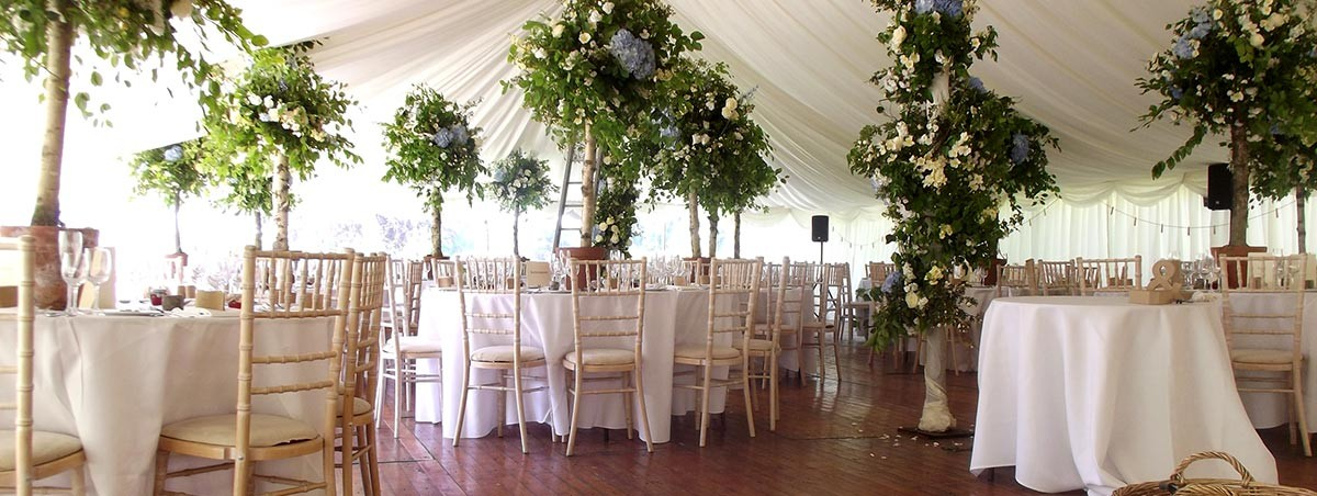 White Interior Wedding Marquee Heritage Portfolio