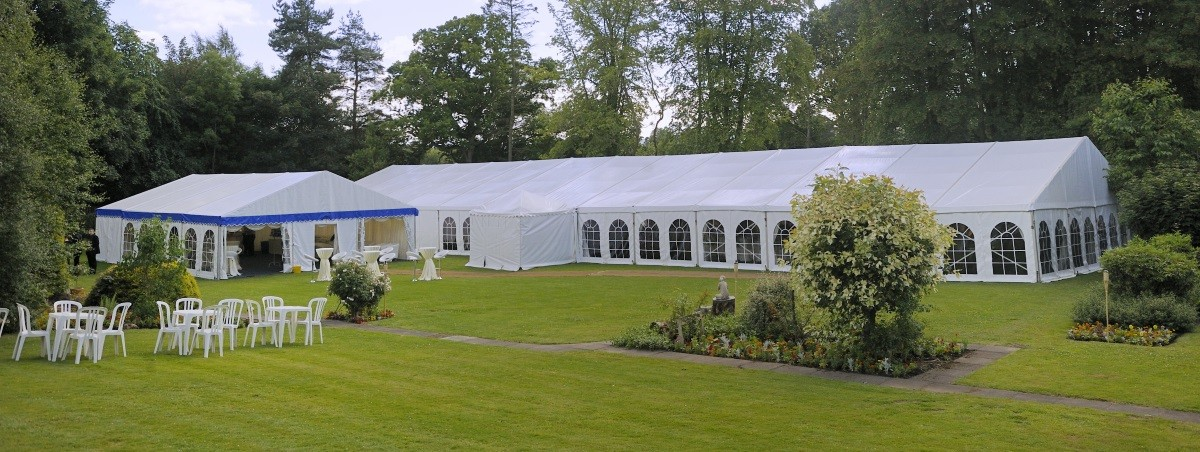 Country Garden Wedding Marquee