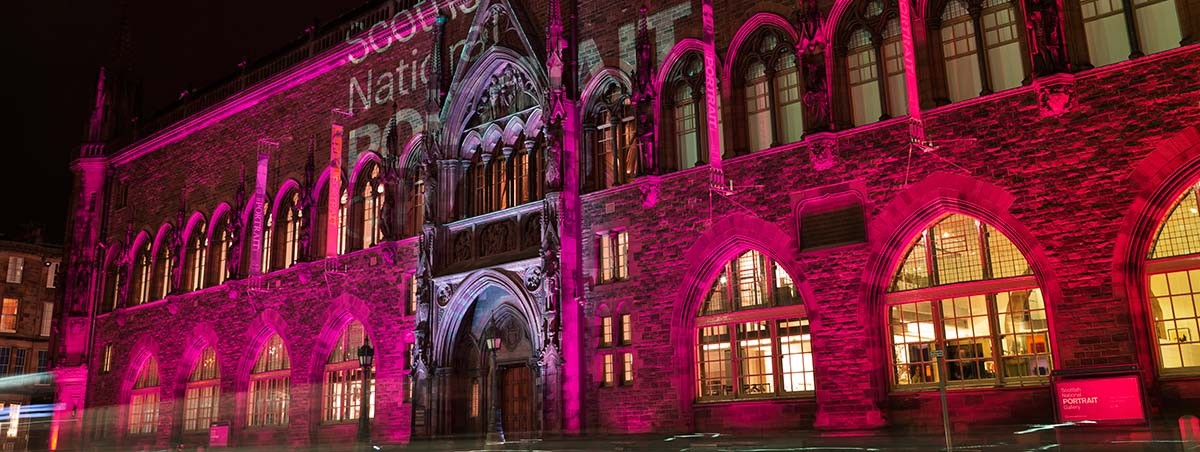 Scottish National Portrait Gallery - event venue in the city centre of Edinburgh