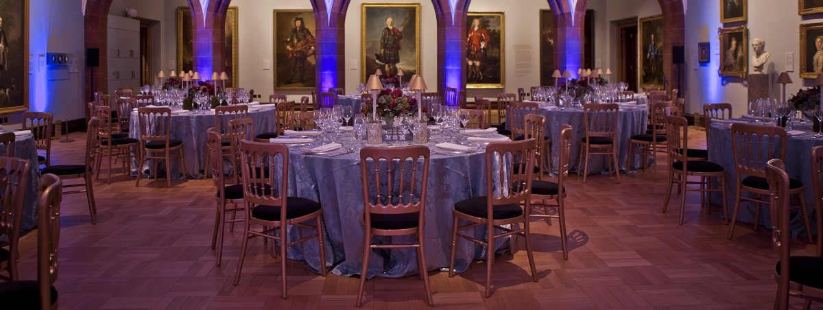 Ramsay Room at the Scottish National Portrait Gallery - ideal for corporate dinners