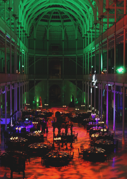 Halloween event at the National Museum of Scotland