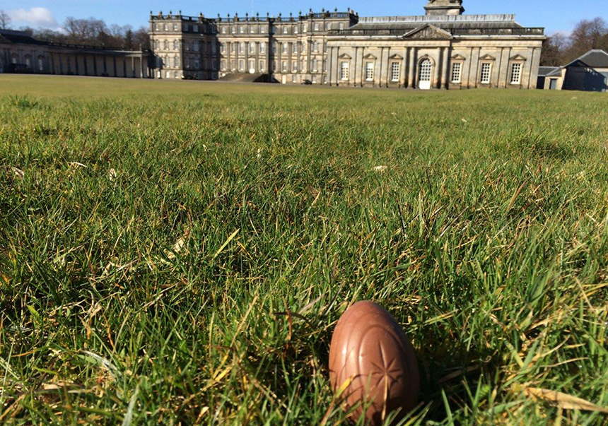 Jester the Egg at Hopetoun House