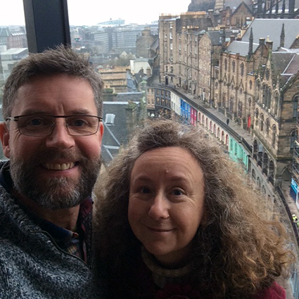 Heritage Portfolio competition winners enjoying their stay at the G&V Hotel on Royal Mile, Edinburgh